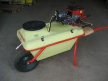 Käsiprits bensiini mootoriga 80L